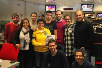 Equipo de 'Hoy por hoy' de la Cadena SER (noviembre 2013   Foto: Javier Jiménez Bas)