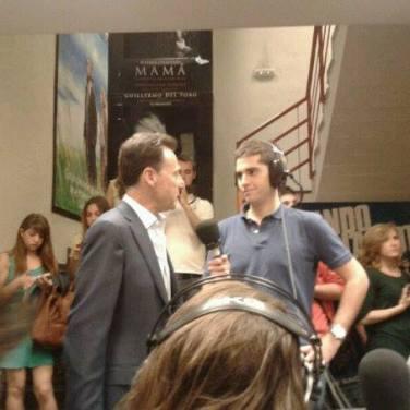 Matías Prats en los 'Premios Metacomunicación' (Universidad Complutense de Madrid, mayo 2013)