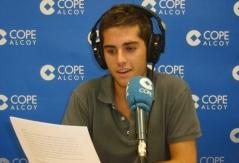 Locución de una noticia del informativo de COPE Alcoy (julio 2012)