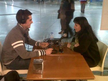 Entrevista a una víctima del 11M realizada en la estación de Atocha (marzo 2012)