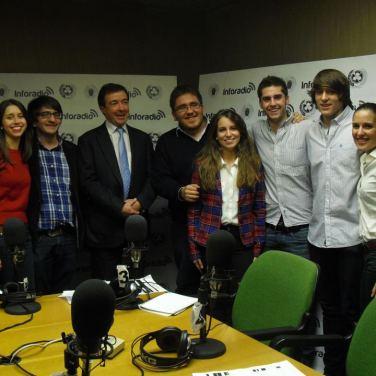 Entrevista al rector de la Universidad Complutense, José Carrillo, en los estudios de InfoRadio (noviembre 2012)