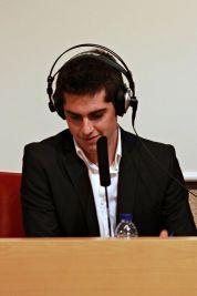 Presentación de la Gala de InfoRadio (enero 2013)