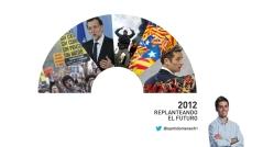 Portada del reportaje resumen de las noticias más destacadas de 2012