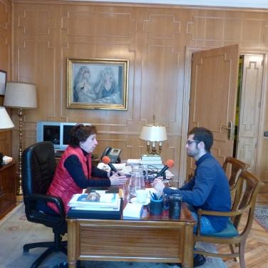 Entrevista a la periodista Victoria Prego (abril 2016)