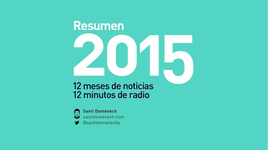 Resumen de 2015